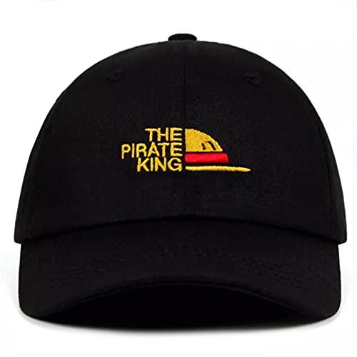 Gorra béisbol Hiphop Sun Hat Snapback hat Algodón el sombrero de papá una pieza bordado Luffy gorra de béisbol sombreros de ventilador para mujeres hombres hombre Snapback Ajustable Plegable regalos
