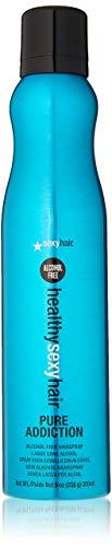 SEXYHAIR Healthy Pure Addiction Alcohol Free Hairspray, 9 oz