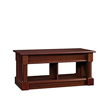 Sauder 420520 Lift-Top Coffee Table, Select Cherry