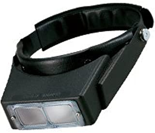 拡大鏡 メガネ ヘッドルーペ 双眼ヘッドルーペ BM-100C 2.7倍 双眼ルーペ ヘッドバンド式 池田レンズ