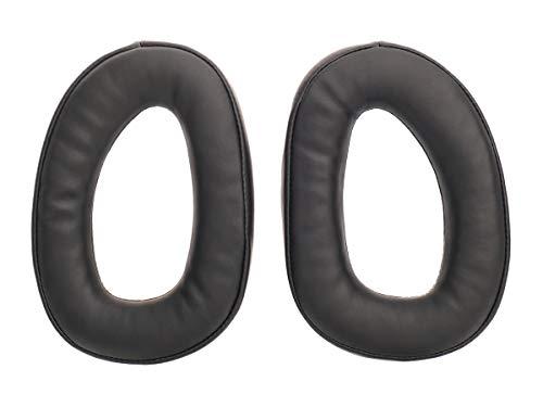 WEWOM Almohadillas de Repuesto para Cascos Sennheiser GSP 300, 301, 302, 303 & 350, Negro