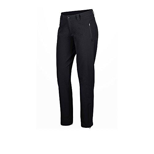 Marmot Damen Scree Pant Trekkinghose Softshell Funktionshose , Schwarz (Black) , M (Herstellergröße : 8)