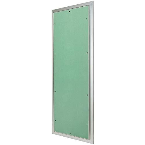MW multi werkzeug Revisionsklappe 300 x 900 mm mit 12,5mm GK-Einlage imprägniert für Feuchtraum geeignet Aluminium-Rahmen 30 x 90 cm