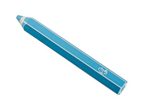 Tinc–Goma de borrar de color morado con forma de bolígrafo gigante Erpencpu, color azul