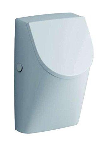 Keramag Urinal Renova Nr. 1 Plan, mit Deckel Scharniere: Metall KeraTect weiß(alpin), 235120600