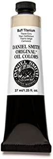 DANIEL SMITH Original Oil Color 37ml Paint Tube, Buff Titanium