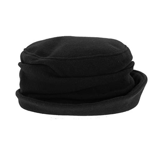 Wegener - Cappello a fisarmonica, colore: Nero Nero Large