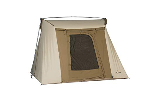 TETON Sports Mesa 10 Canvas Tent; Waterproof, Family Tent; The Right Shelter for Your Base Camp; 4-6 Person Tent