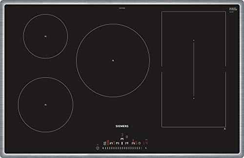 Siemens ED845FWB5E iQ500 Autarkes Induktionskochfeld, Glaskeramik, 80 cm breit, powerMove, quickStart, schwarz