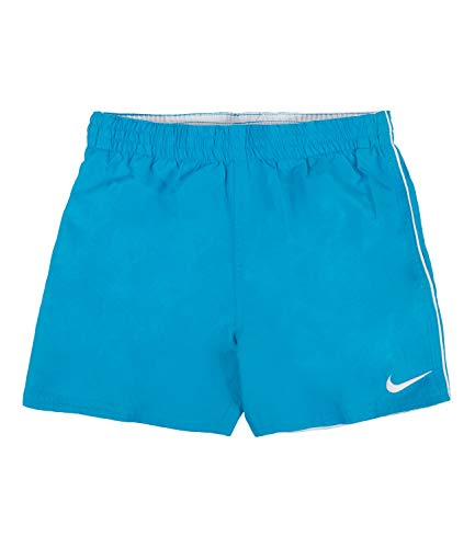 """Nike Solid Lap Volley Short 4"""" -Lbf4 Ness9654 Badehose Kinder S hellblaues Fell"""