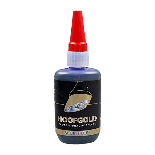 HOOFGOLD BlueStuff Strahlmed Hufpflege für Pferde bei Strahlfäule Anti-Doping-Produkt Intensive Strahlpflege 59ml