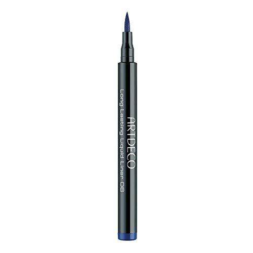 ARTDECO Long-Lasting Liquid Liner, eyeliner blauw, nr. 8, blauw