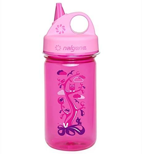 Nalgene Grip n Gulp Bottle Kids Pink 355ml