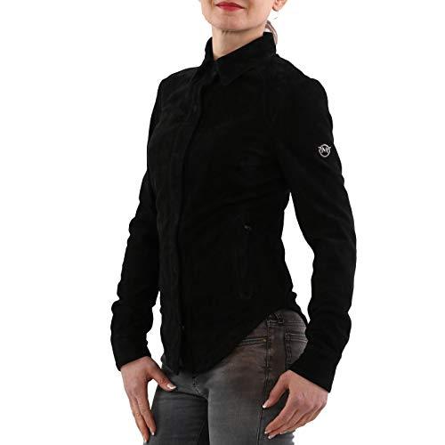 Matchless Damen Leder Jacke Notting Hill Shirt Black 123036 Größe (38) XXS