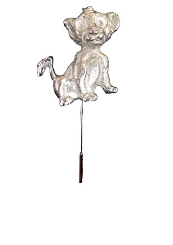 FT524 Cartoon Lion Cub 3x3cm English Pewter on a tie stick pin hat scarf collar POSTED BY US GIFTS FOR ALL 2016 FROM DERBYSHIRE UK