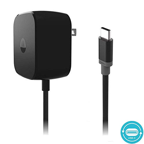 Motorola TurboPower 30 USB-C/Type C Fast Charger for Moto Z Force | SPN5912A - (Renewed)