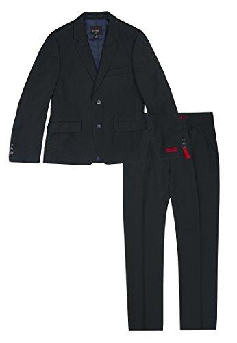 Lemmi Jungen line Slim Anzug, Blau (Total Eclipse 3000), 128