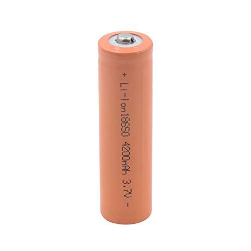prbll 18650 3.7v 4200mah Batería De Litio, BateríAs De Iones De Litio Recargables para Linterna Faro MicróFono De Banco De Energía 1piece