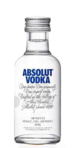 absolut Vodka 40% Vol. 0,05L - 50 ml