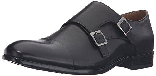 Aldo Men's Marzilli Monk Strap, Black Leather, 10.5 D US