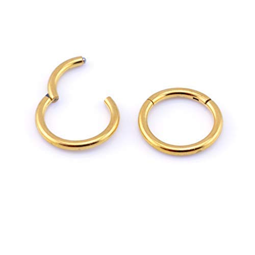 Vault 101 Limited HINGED Segment Ring - Gold - 1.2mm x 8mm