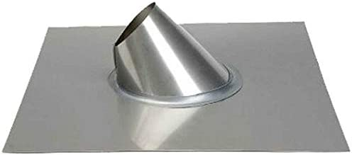 Metal-Fab Inc 6 12 Bombing free shipping Pitch Roof Chimney Silver Max 82% OFF - Flashing