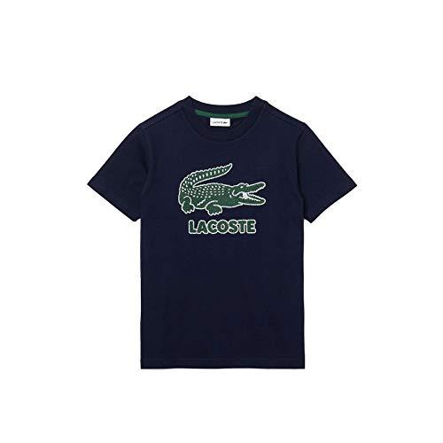Lacoste Jungen TJ1965 T-Shirt, Marine, 4 Jahre