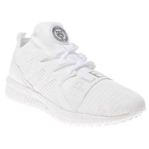 Plein Sport Runner Original Cage Mens Sneakers White