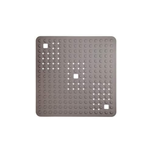 WohnDirect Duschmatte Beige/quadratisch: 60x60 cm • sehr rutschfest & sehr robust • Antirutschmatte für Dusche oder Badewanne • waschbar bei 60°C
