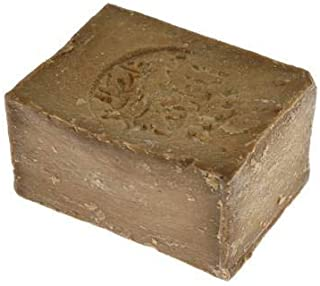 ALUS - Natural Aleppo soap made with Extra Virgin Olive Oil and Laurel Oil at 35% - Biodegradable - Non-allergenic and delicate - 200 gr