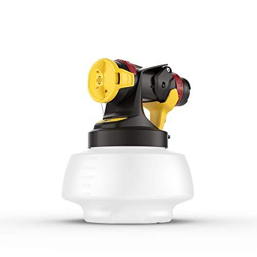 WAGNER Sprühaufsatz Wall Extra I-Spray 1800 für WAGNER Farbsprühsysteme FLEXiO - Dispersions- und Latexfarben für den Innenbereich, Behälter 1800 ml