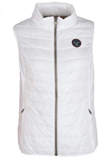 NAPAPIJRI Acalmar WOM Vest Giacca, Bianco (Bright White), 38 (Taglia Produttore: Medium) Donna