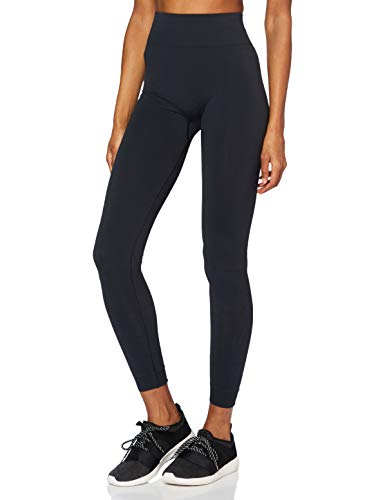ESPRIT Sports Womens Tight Seamless Sporty Pants, 001/Black, M-L