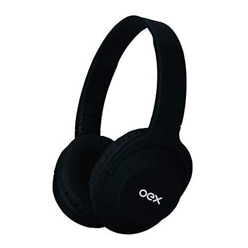 Hs307 Headset Flow (Versão Bluetooth) Preto, Oex, Microfones e Fones de Ouvido, Preto