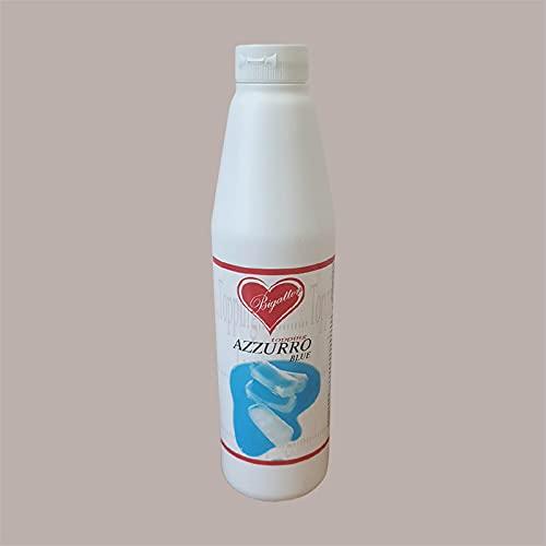 Lucgel Srl 1,2 kg Topping al sabor azul Chewing Gum Americano Bigatton para helado Yogurt y pastelería artesanal