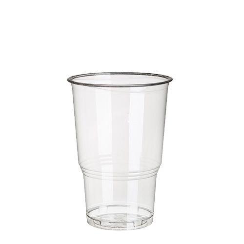 '375 kaltgetr änke Tasse en plastique C-PLA 0,25 l Ø 7,8 cm, 11 cm glaskl