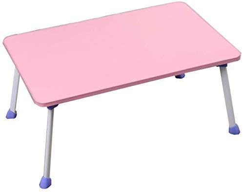 Robuust klein bureau voor laptop slaapzaal kantoor klaptafel bijzettafel Roze