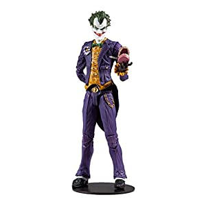 "McFarlane Toys DC Multiverse Batman: Arkham Asylum The Joker 7"" Action Figure - 31FGAfi DnL - McFarlane Toys DC Multiverse Batman: Arkham Asylum The Joker 7″ Action Figure"