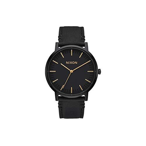 Nixon Reloj Analógico para Unisex de Cuarzo con Correa en Cuero A1058-1031-00