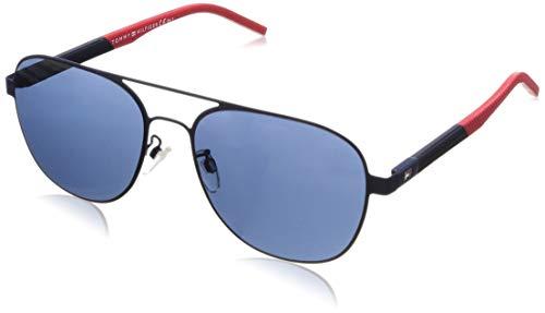 Tommy Hilfiger Th 1620/F/S Montures de lunettes, Multicolore (Mtt Blue), 59 Homme