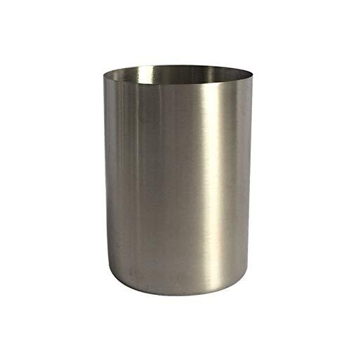 Cuisine multifonction Culotte à boisson en acier inoxydable électropolie à une paroi, 300 ml (Argent) , Légère et durable, facile à laver et à nettoyer (Couleur : Silver)