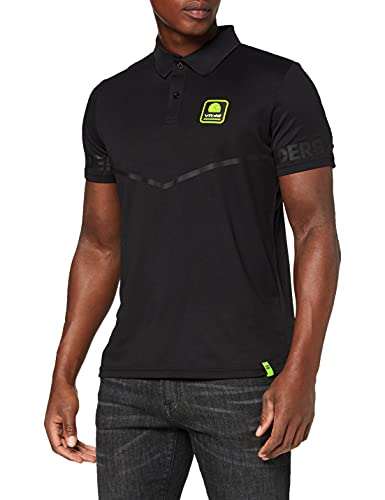 Valentino Rossi Ramts318004Nf002, T-Shirt, Riders Accademy Hombre, Negro, M 104 cm/41In Chest