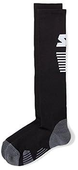 Starter Adult Unisex Compression Socks Amazon Exclusive Black Large/Extra Large  Women s Shoe Size 10-13  Men s Shoe Size 9-12