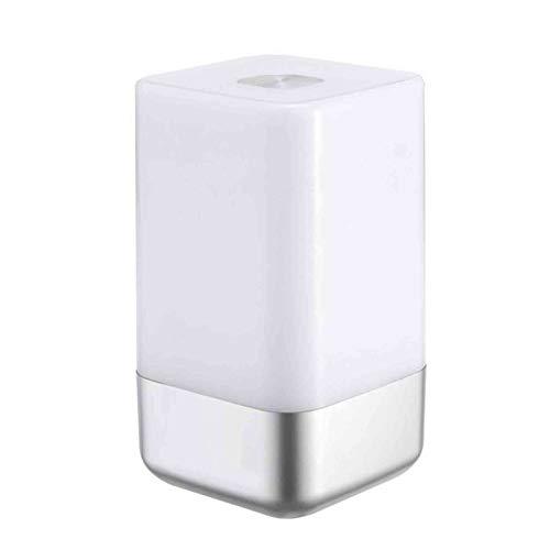 Xiaoxia Grocery Reloj Despertador Relojes Digitales Radio USB Recargable Noche Luz Táctil Atmósfera Lámpara Brillo Estado de ánimo Ajustable para Regalar a los Que te rodean