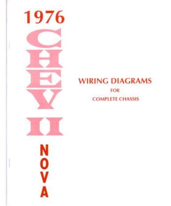 Amazon.com: 1976 CHEVROLET NOVA Wiring Diagrams Schematics: Automotive | Chevrolet Nova Wiring Diagram |  | Amazon