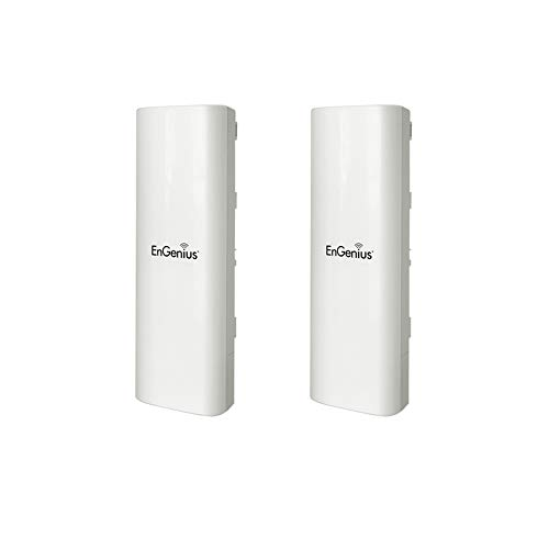 Engenius Wireless Access Point EOC5610 Long Range Outdoor & Client Bridge Dual Band 802.11a/b/g (2-Pack)