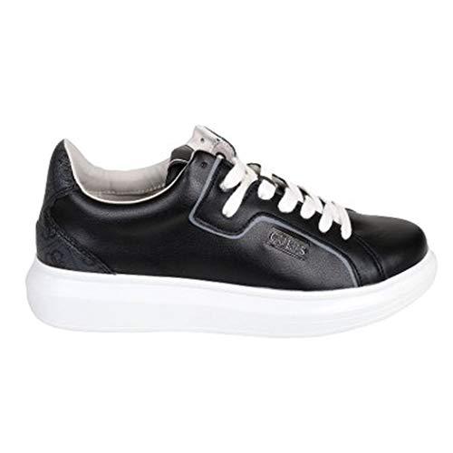 Guess FM6SAL - Zapatillas deportivas con cordones de piel para hombre Size: 45 EU