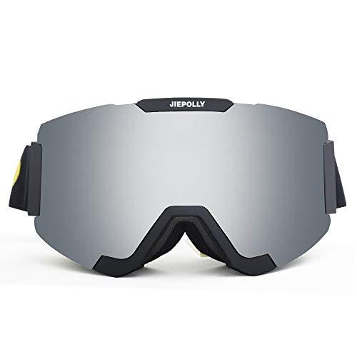 Mawson Cómodo y versátil Imán cilíndrico para Lentes Desmontables Gafas Fuera de esquí montañismo montañismo Gafas Espejo Gafas Espejo Moda Casual (Color : 2, Size : 22 * 9.5cm)