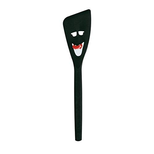 koziol Pfannenwender Turner, Kunststoff, solid schwarz, 4 x 7,2 x 30,6 cm