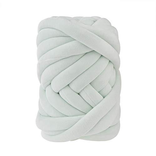 Hilo de lana de tejer voluminoso, Hilo de núcleo blando - Hilo...